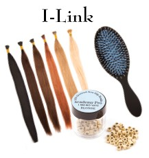 "I-Link Getting Started Offer comes with 8 Pieces of Academy PRO 18"" REMY Hair             3 Pieces of 100 Count Grooved Beads      Our Complementary Boar Bristle Brush  SAVE $100 at Checkout Two Times offer"