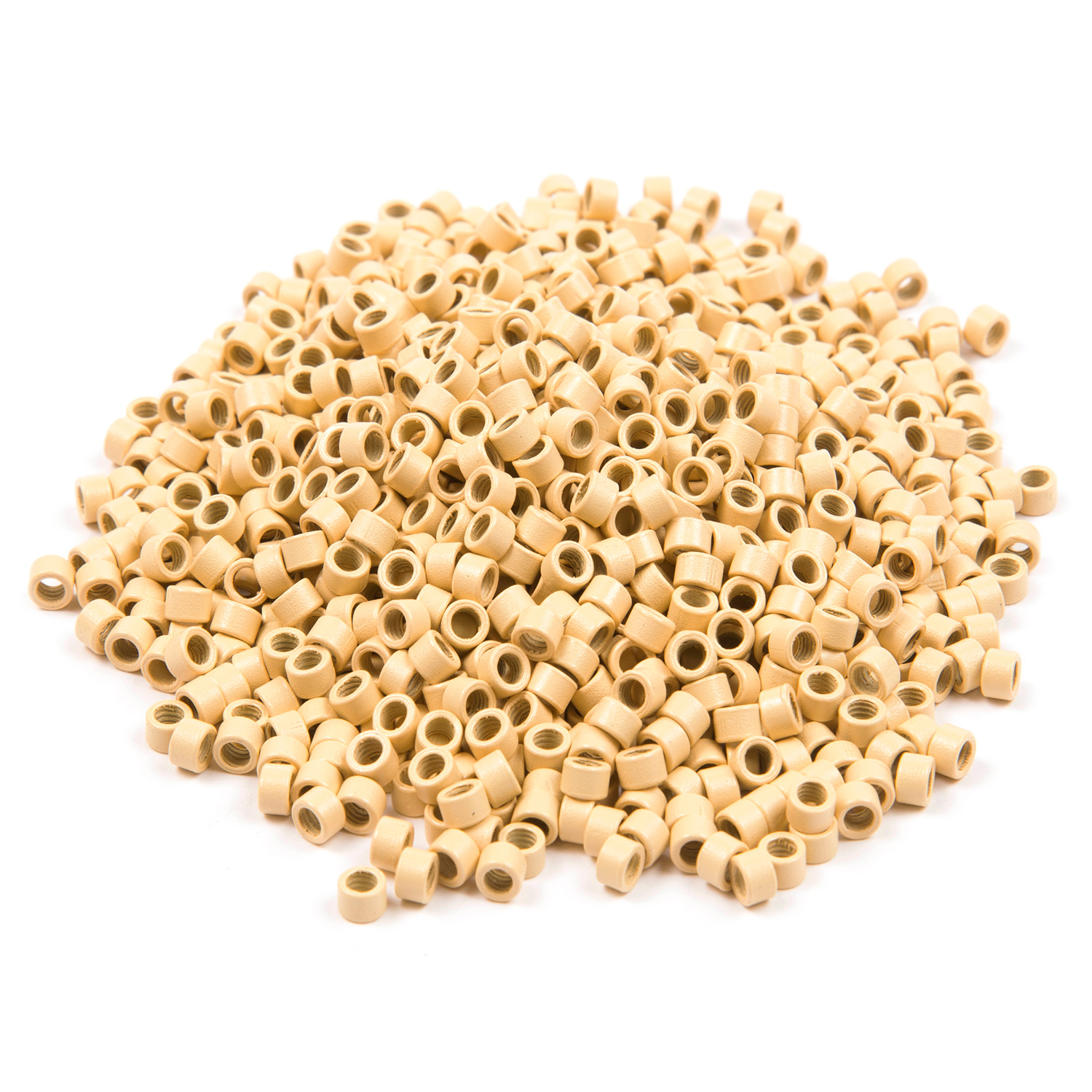 1000 ct. Med Size Blonde Beads