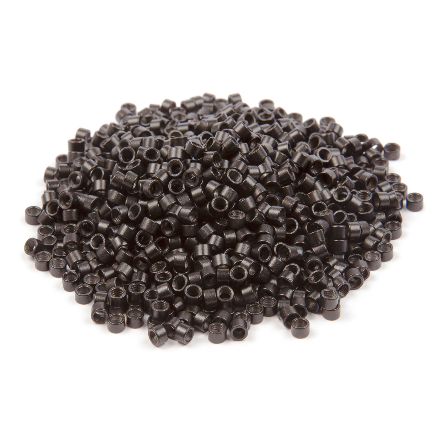 1000 ct. Med Size Black Beads