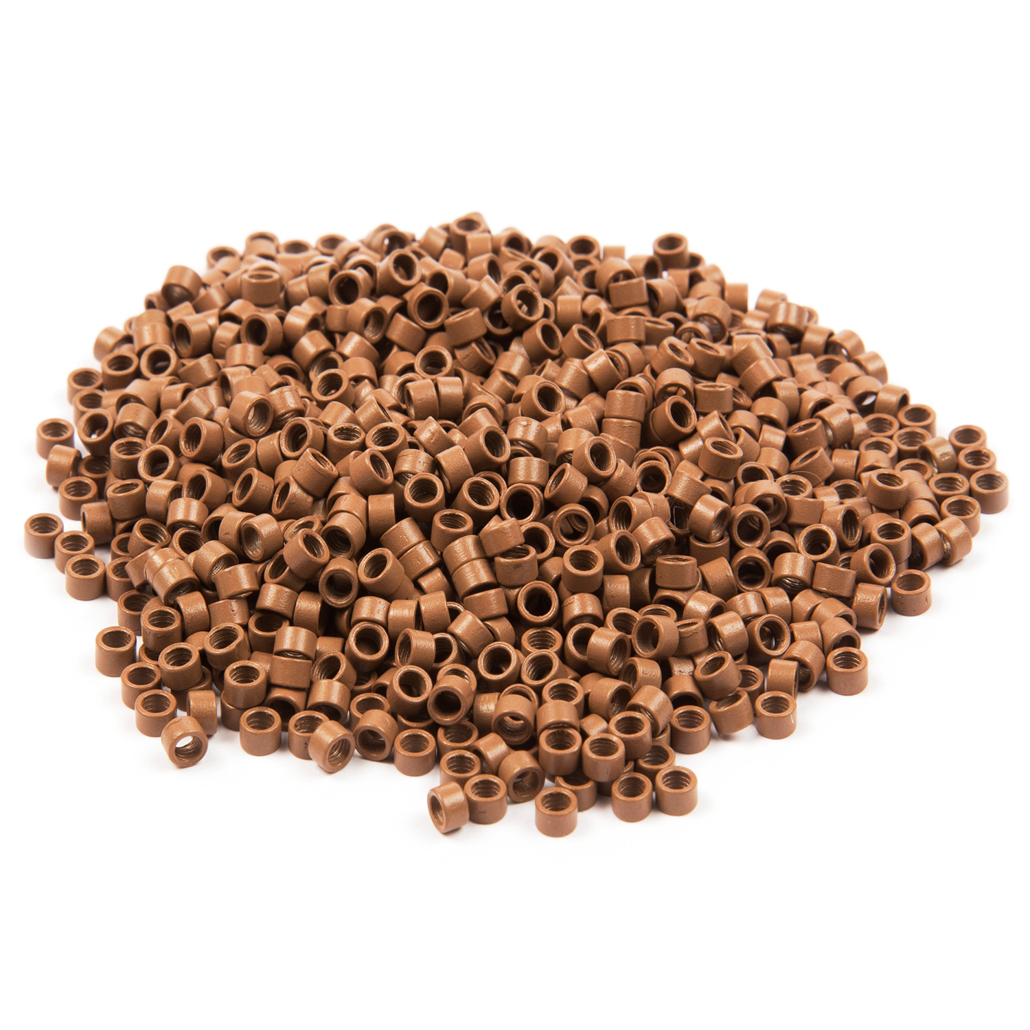 1000 ct. Med Size Lite Brown Beads