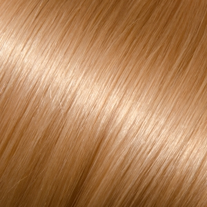 16 Full Head Human Clip-In #24 (Light Gold Blonde)