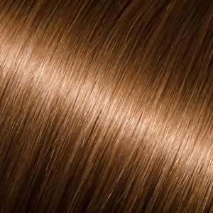 22 Kera-Link Pro Curly #8 (Light Chestnut Brown)