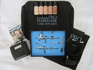 Student Kit, Air Brush Makeup