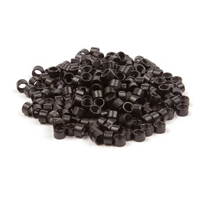 250 ct. Med Size Black Beads