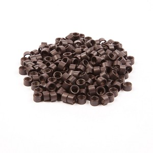 250 ct. Lg Size Dark Brown Beads