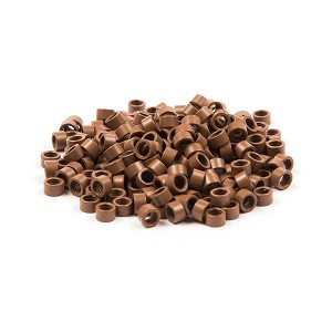 250 ct. Lg Size Lite Brown Beads