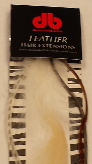 Long Natural Variety Feather Extensions
