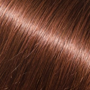 16 I-Link Pro Straight #3R (Darkest Brown with Auburn)