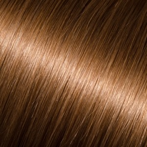 12 Tape-In Pro Straight #8 (Light Chestnut Brown)