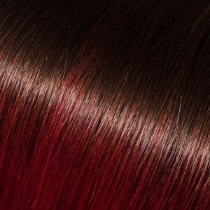 18 I-Link Pro Straight Ombre#1B/Burgundy