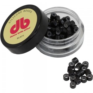 Silicone Beads - Black